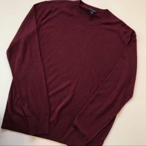EUC silk cashmere BR sweater